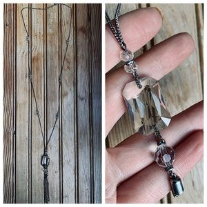 Jewelry - Art Deco Lavaliere Necklace
